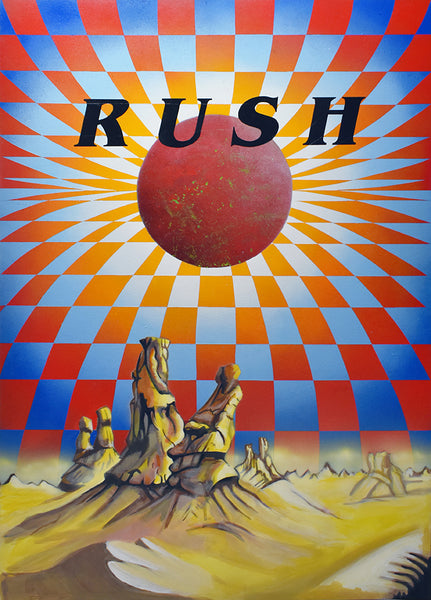 I Feel Another Rush Coming On! Rave inspired artwork by Will Wright