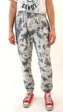 Load image into Gallery viewer, Tie Dye Joggers Grey and Black