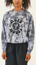 Load image into Gallery viewer, Acid House Tie Dye Sweater Grey Black