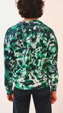 Load image into Gallery viewer, Rave Krispes Tie Dye Sweater green black