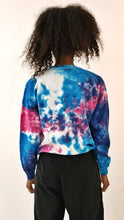 Load image into Gallery viewer, Jungle Party 91 Tie Dye Sweater Blue Purple