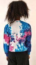 Load image into Gallery viewer, Culture Shock 91 Tie Dye Sweater Blue Purple
