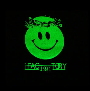Wasp Factory 1991 Glow In The Dark Short Sleeve Tee Black (BOGO50%OFF)