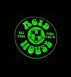 Acid House Glow In The Dark Short Sleeve Tee Black (BOGO50%OFF)