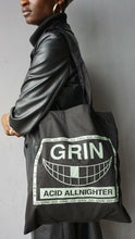 Load image into Gallery viewer, Go Grin Glow In The Dark Tote Bag