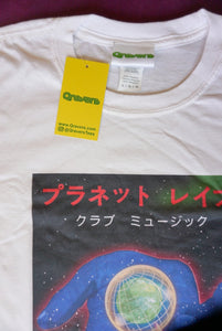Planet Rave Japan 2 Short Sleeve Tee White (BOGO50%OFF)