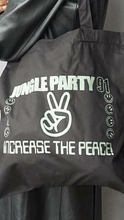 Load image into Gallery viewer, Jungle Party Glow In The Dark Tote Bag
