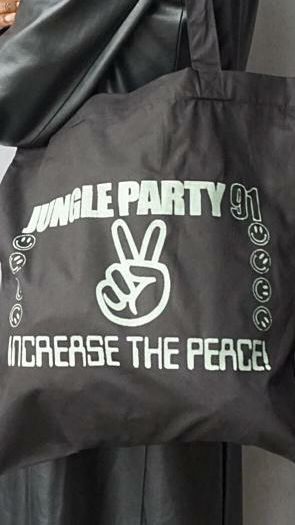 Jungle Party Glow In The Dark Tote Bag