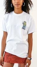 Load image into Gallery viewer, Qravers Man Short Sleeve Tee White (BOGO50%OFF)