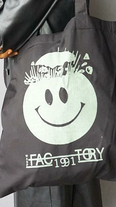 Wasp Factory Glow In The Dark Tote Bag