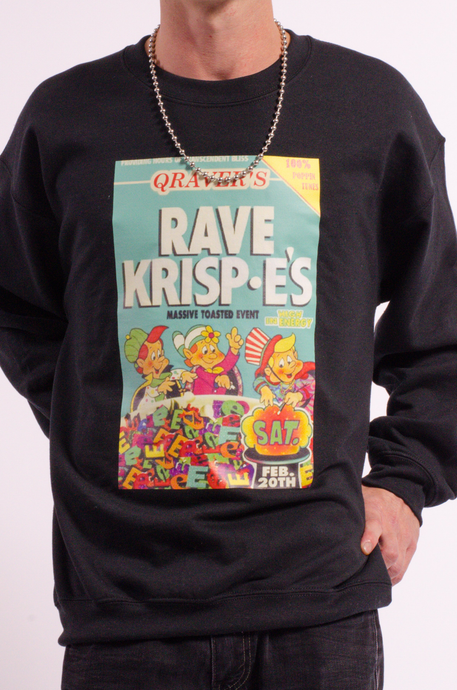 Rave Krispe's sweat black