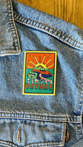 Voyage Iron on Patch