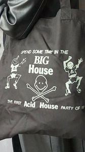 Big House Glow In The Dark Tote Bag