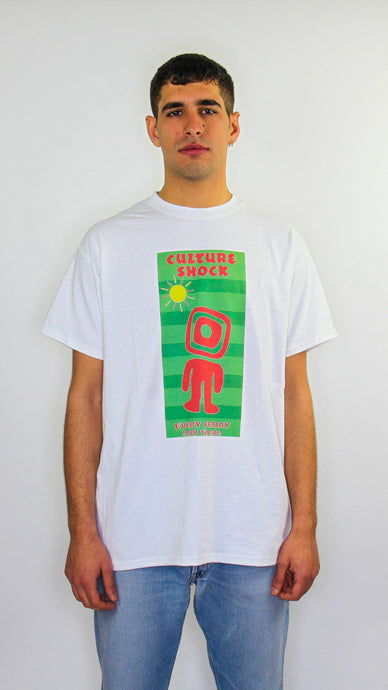 Culture Shock Short Sleeve Tee White