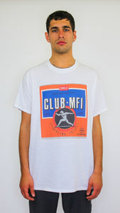 Club MFI Short Sleeve Tee White