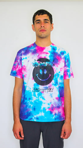 Wasp Factory - Dark Acid Tie Dye Tee