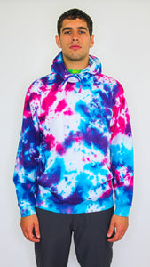 Milk - Dark Acid  Tie Dye Hoody