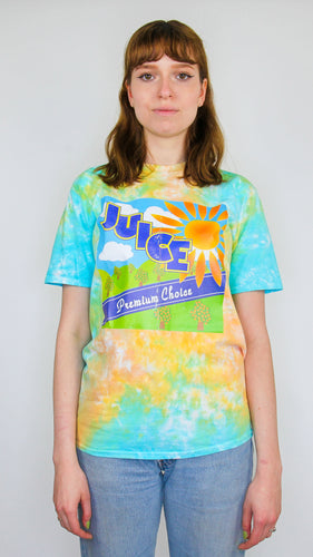 Juice - Acid Scrunch Tie Dye Tee