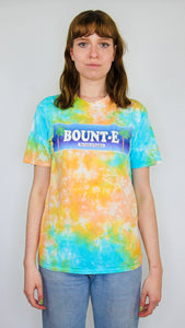 Bount-e - Acid Scrunch Tie Dye Short Sleeve Tee (BOGO50%OFF)