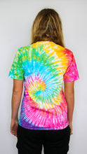 Load image into Gallery viewer, Voyage - Rainbow Spiral Tie Dye Short Sleeve Tee (BOGO50%OFF)