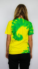 Load image into Gallery viewer, Acid House - Neon Spiral Tie Dye Tee