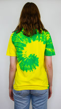 Load image into Gallery viewer, Culture Shock - Rainbow Spiral Tie Dye Tee