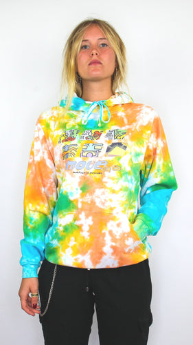 Move 98 - Acid Scrunch Tie Dye Hoody