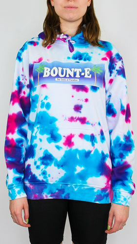 Bount-e - Dark Acid Tie Dye Hoody