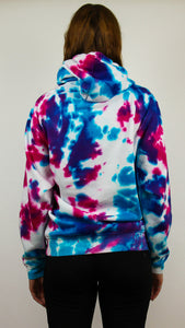 Third Eye - Dark Acid Tie Dye Hoody