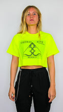 Load image into Gallery viewer, Third Eye Crop Top neon green