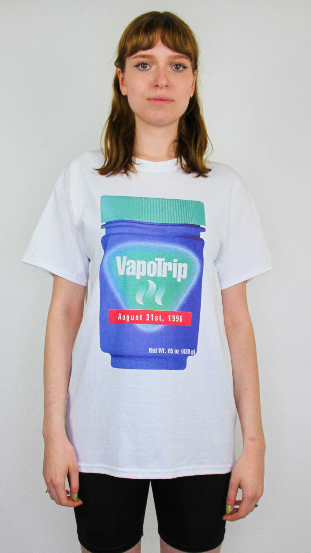 Vapo Trip Short Sleeve Tee White (BOGO50%OFF)