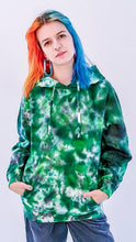 Load image into Gallery viewer, Wasp Factory Tie Dye Hoody Green Black
