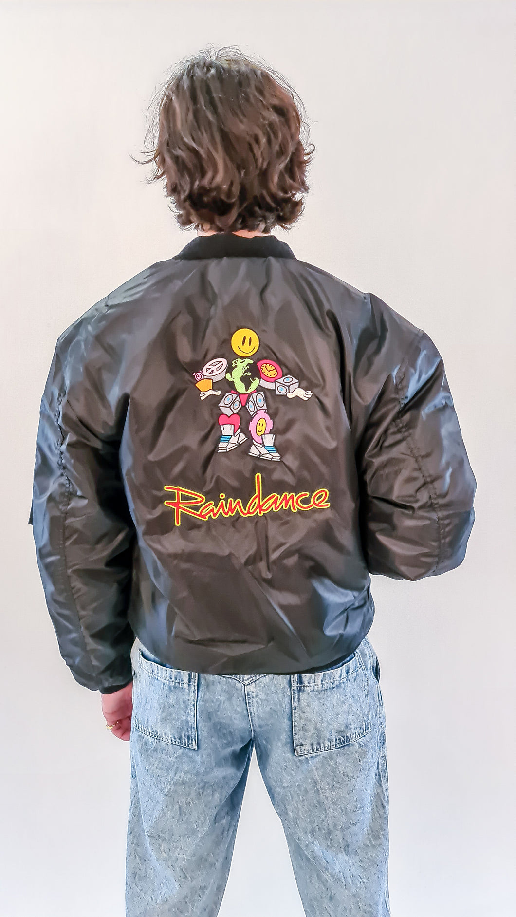 Raindance MA-1 Bomber Jacket black