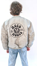 Load image into Gallery viewer, Acid House MA-1 Bomber Jacket Silver