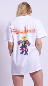 Raindance Man Short Sleeve Tee White (BOGO50%OFF)