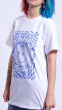 Load image into Gallery viewer, Planet Rave Blue Short Sleeve Tee White (BOGO50%OFF)