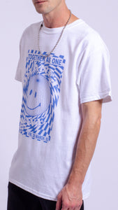 Planet Rave Blue Short Sleeve Tee White (BOGO50%OFF)