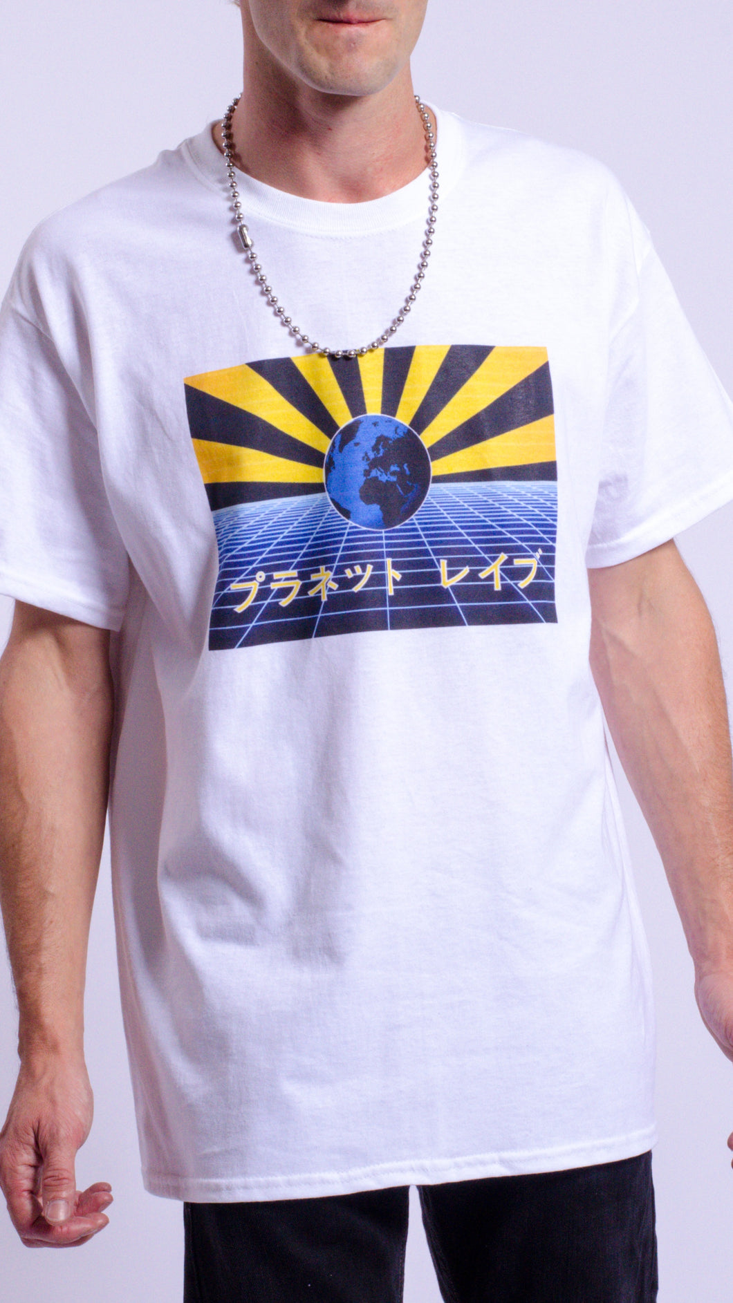 Planet Rave Japan 1 Short Sleeve Tee White (BOGO50%OFF)
