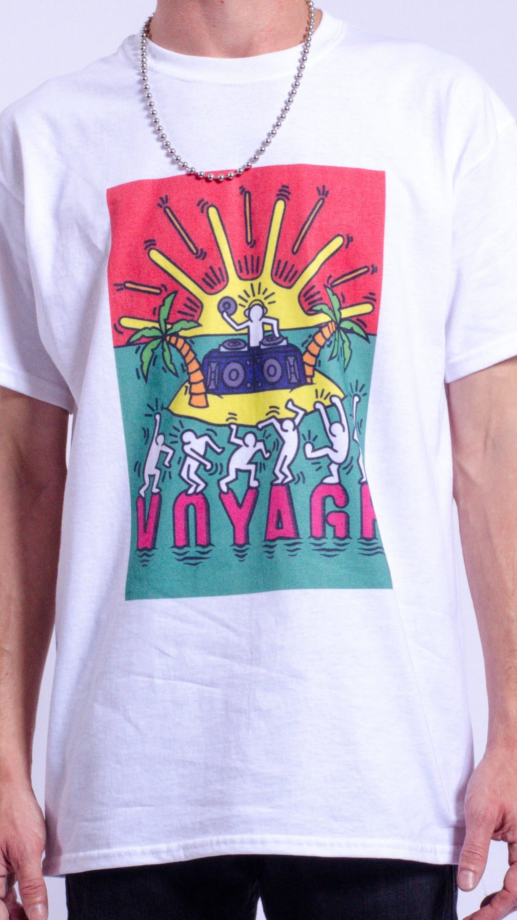 Voyage Short Sleeve Tee White (BOGO50%OFF)
