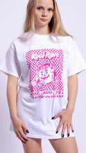 Load image into Gallery viewer, Kool-Rave Pink Short Sleeve Tee White (BOGO50%OFF)