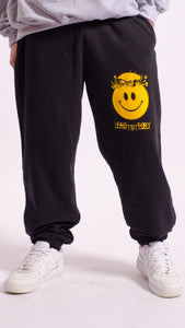 Wasp Factory Screen Printed Joggers Black