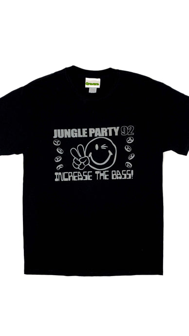Jungle Party 92 Glow In The Dark Short Sleeve Tee Black (BOGO50%OFF)