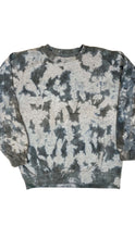 Load image into Gallery viewer, Plain Tie Dye Sweater Grey and Black