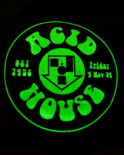 Load image into Gallery viewer, Acid House Glow In The Dark Tote Bag