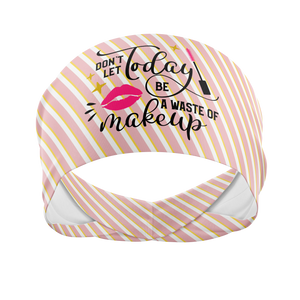 Don't Let Today Be A Waste Of Makeup-Wicking Beauty Band