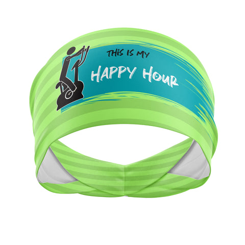 Happy Hour-Wicking Workout Headband