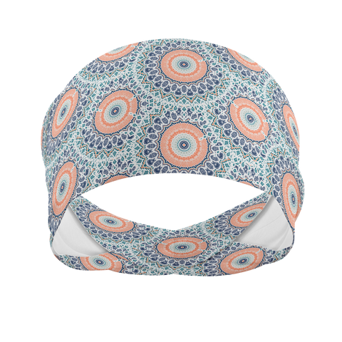 Pastel Mandala -Wicking Workout Headband