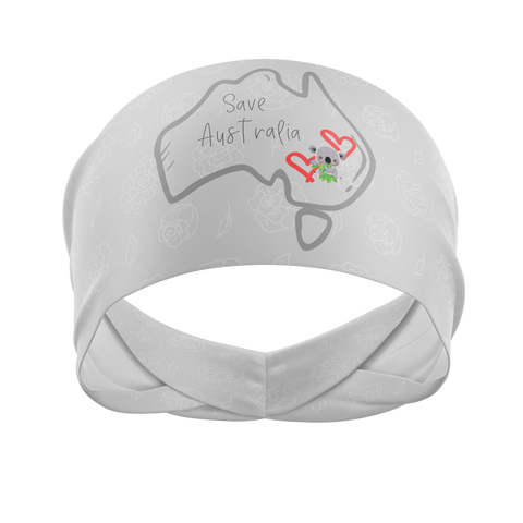 Save The Koala's -Wicking Workout Headband