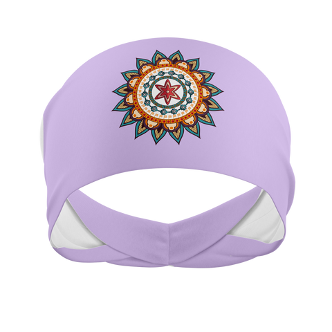 Single Mandala- Wicking Workout Headband