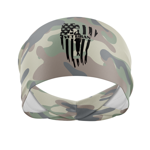 Veteran-Wicking Workout Headband
